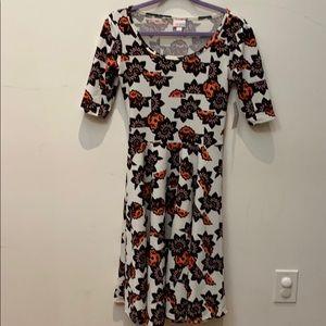 "Lularoe Small ""Nicole"" dress."